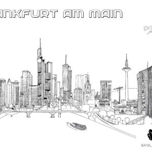 Drawings of Frankfurt