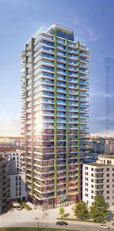 EDEN Frankfurt - new skyscraper in Frankfurt