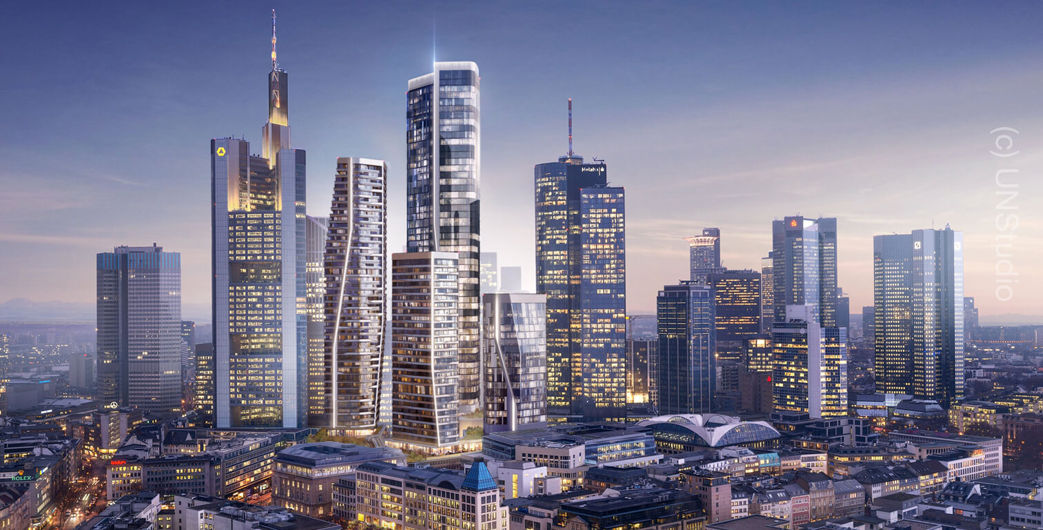 Four Frankfurt Skyline Towers