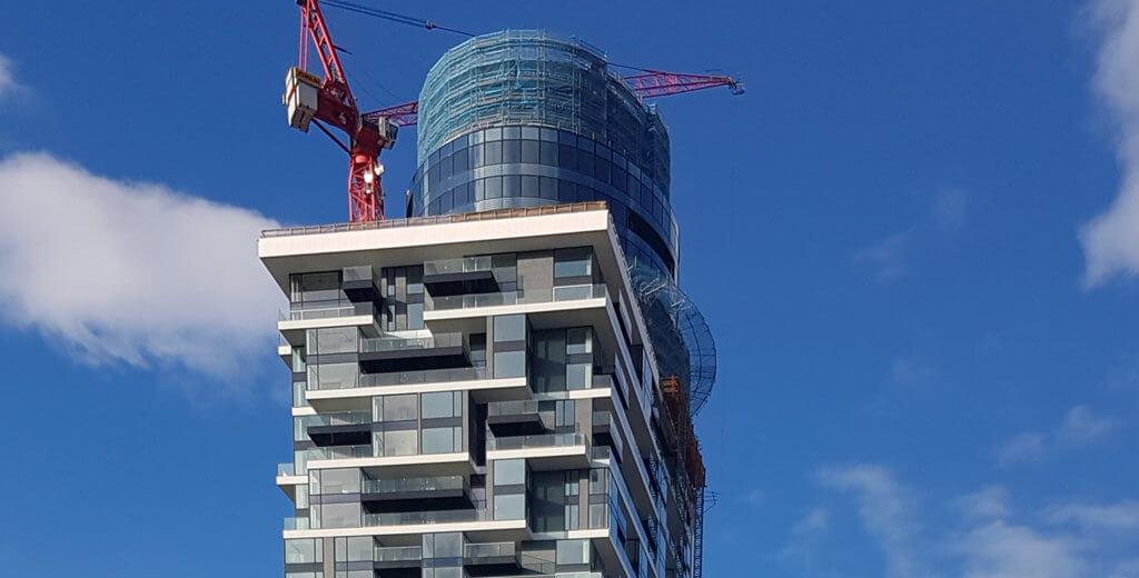 Henninger-Turm in Frankfurt