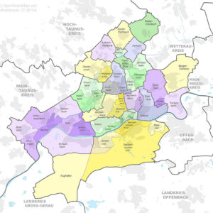 Frankfurt City Districts
