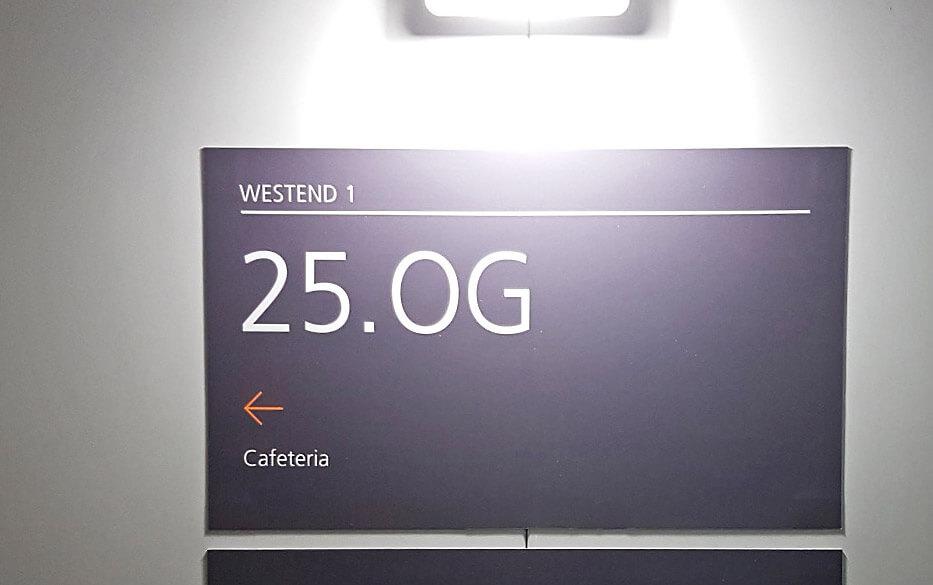 Westend 1 - sign