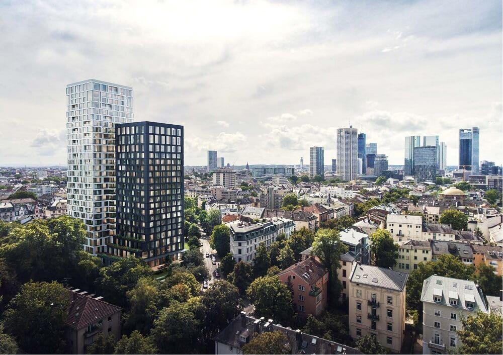 Hochhaus am Park Westend neues Design