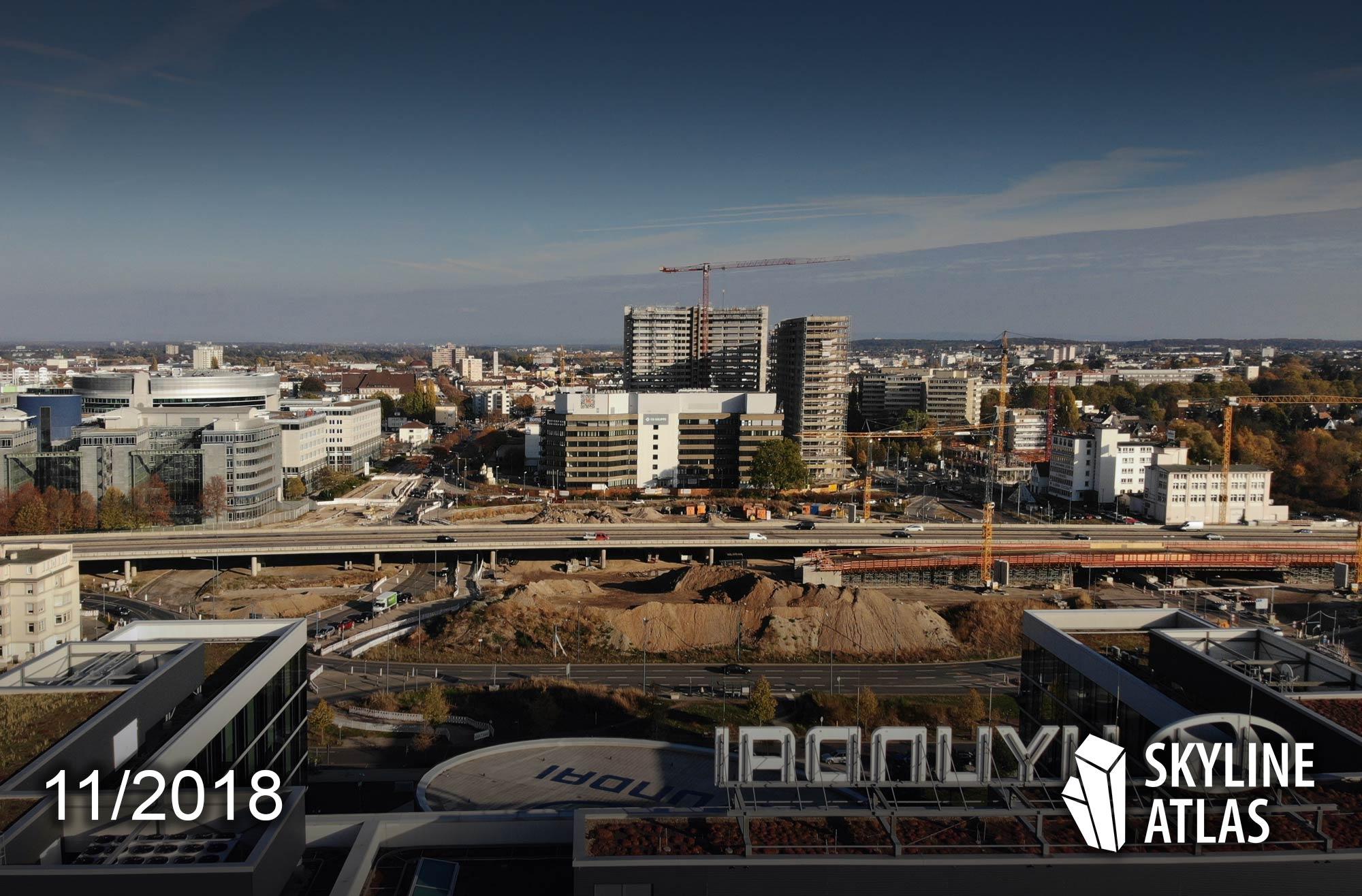 Kaiserlei Offenbach Kreisel - New Frankfurt Towers - CG Gruppe - Eike Becker Architekten
