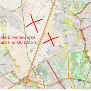 New City District for Frankfurt Planned in the Northwest