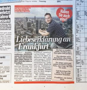 Hochhäuser Frankfurt Bild Zeitung Skyline