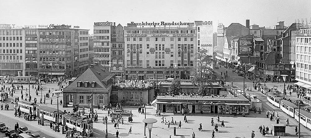 Frankfurt after WW2