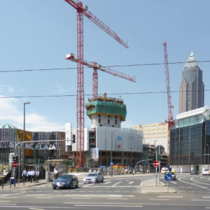 Grand Tower is rising above the Gallus District