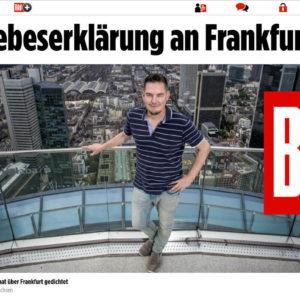 Skyline Atlas in Famous German Bild Zeitung
