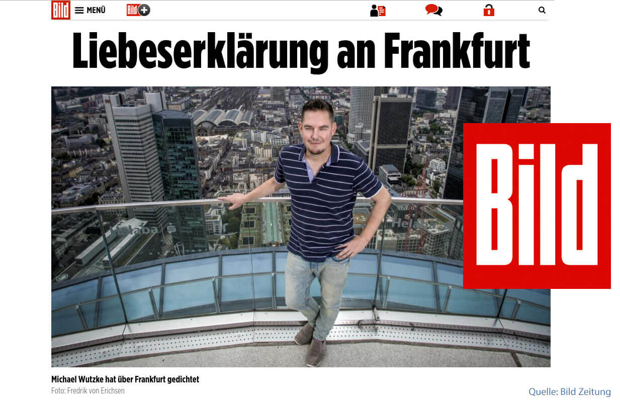Skyline Atlas in Famous German Bild Zeitung