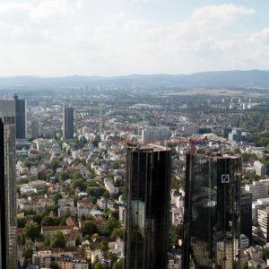 New high-rises in Frankfurt