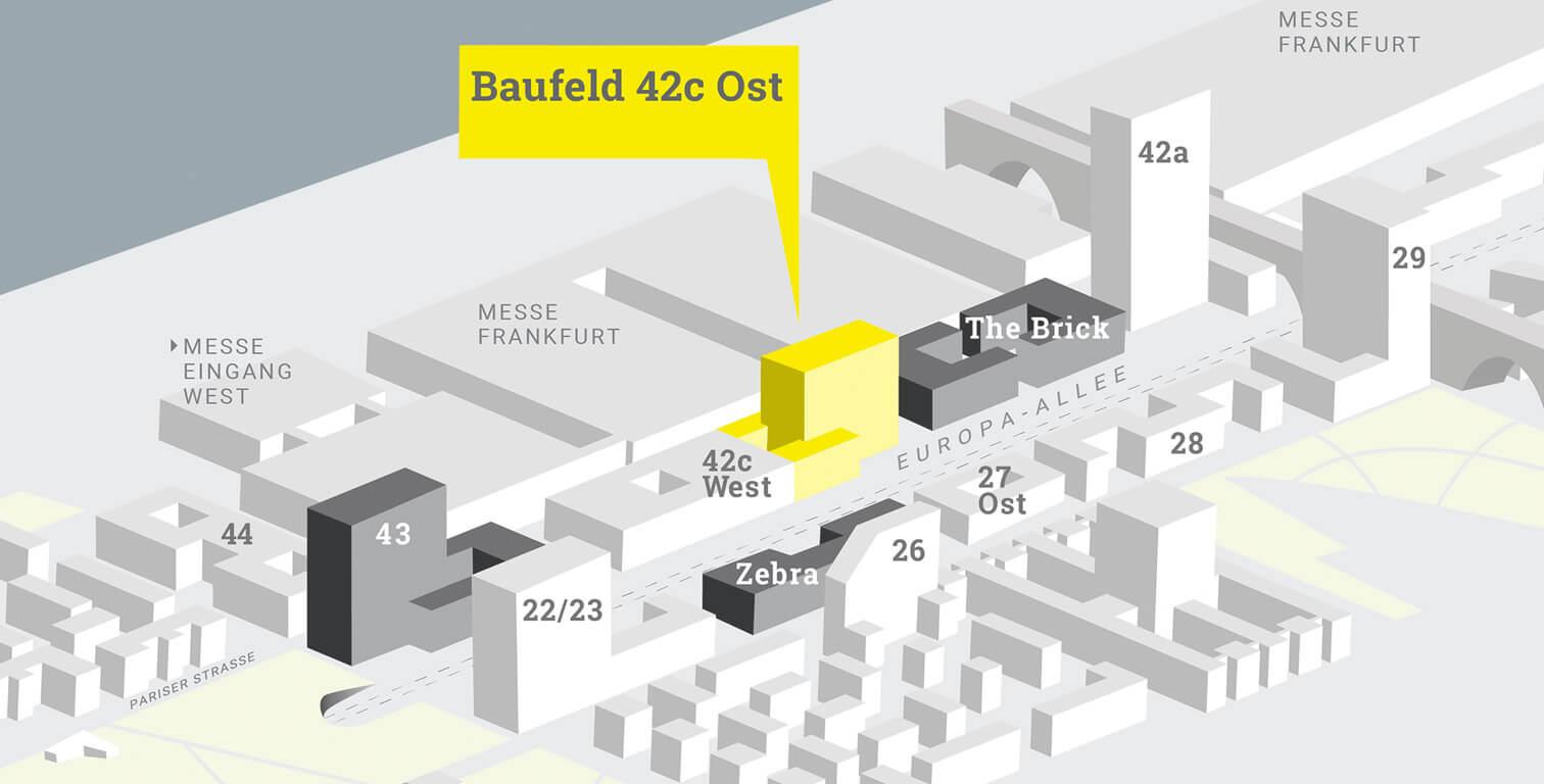 Baufeld 42c Europaviertel Frankfurt Hochhaus Aurelis