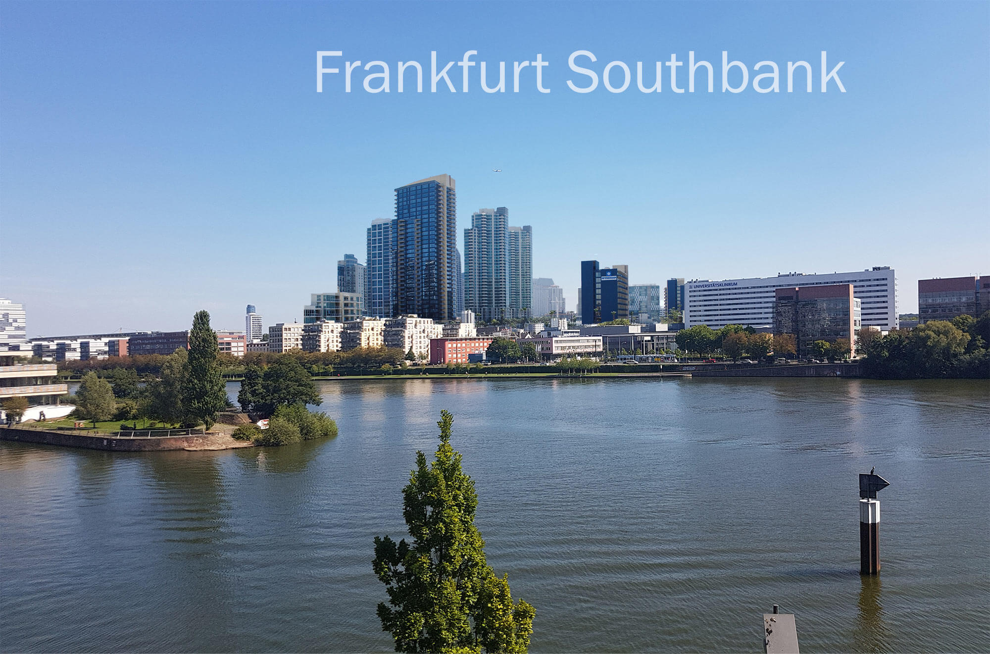 The city needs the opposite pole – Frankfurt Southbank