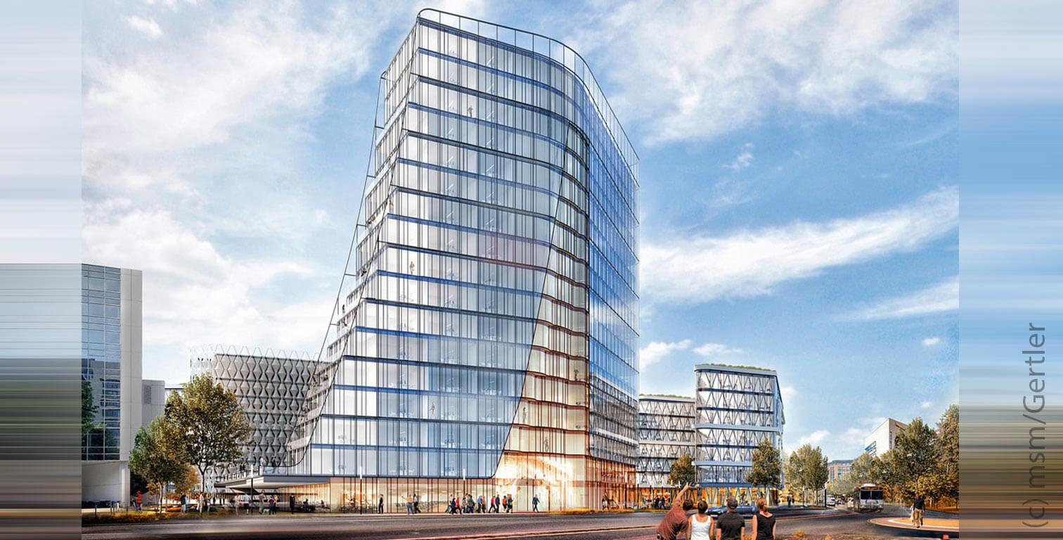 Börsenplatz Eschborn High-rise building