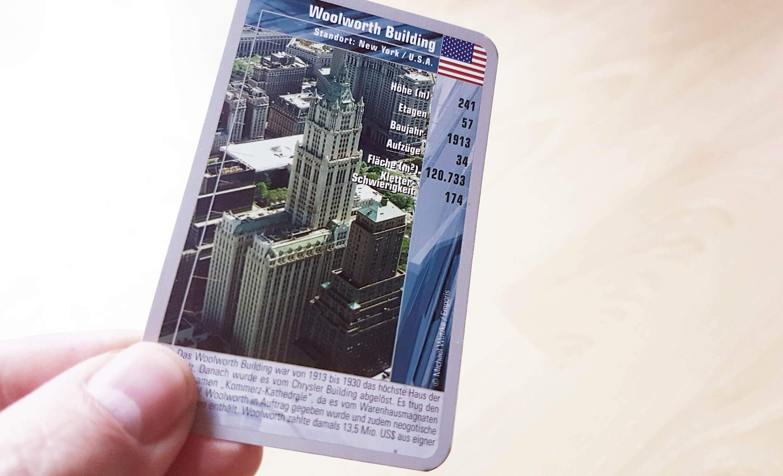 TOP TRUMPS - Skyscrapers - Card game - Michael Wutzke