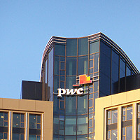 Tower 185 - PwC logo