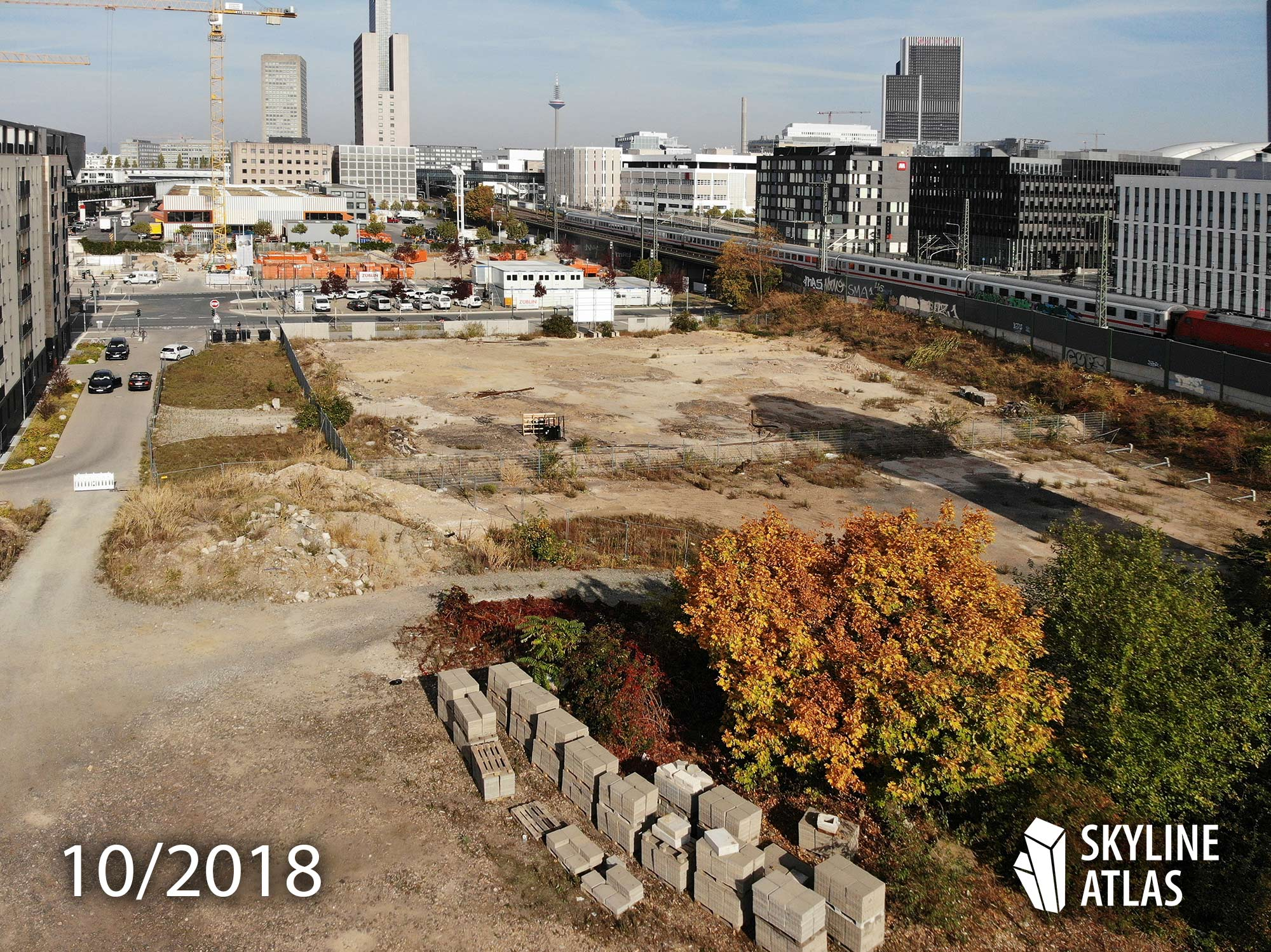 Porsche Design Tower - Frankfurt, Germany - Condominium Tower - Construction Site 2018