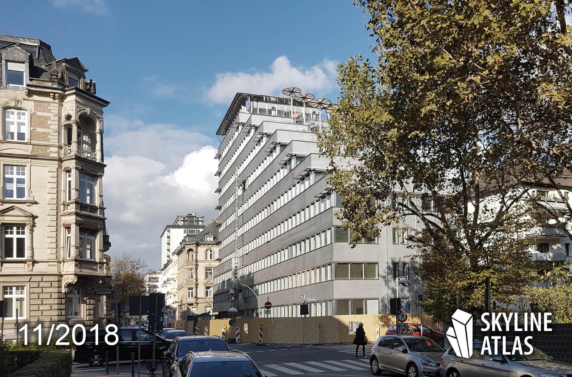MORROW - Frankfurt office building - under construction