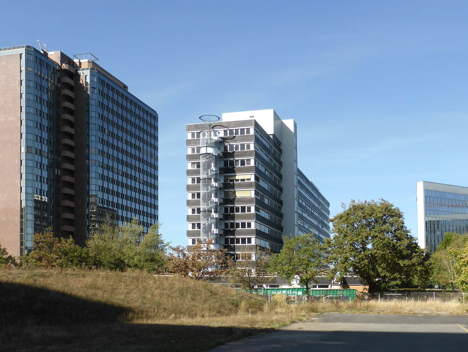 Lyoner Strasse 11 in Frankfurt, Germany - dormitory for hotel employees - furnished apartments