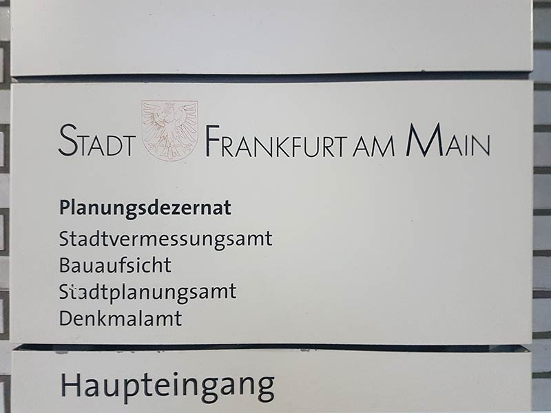 Frankfurt Planning Department