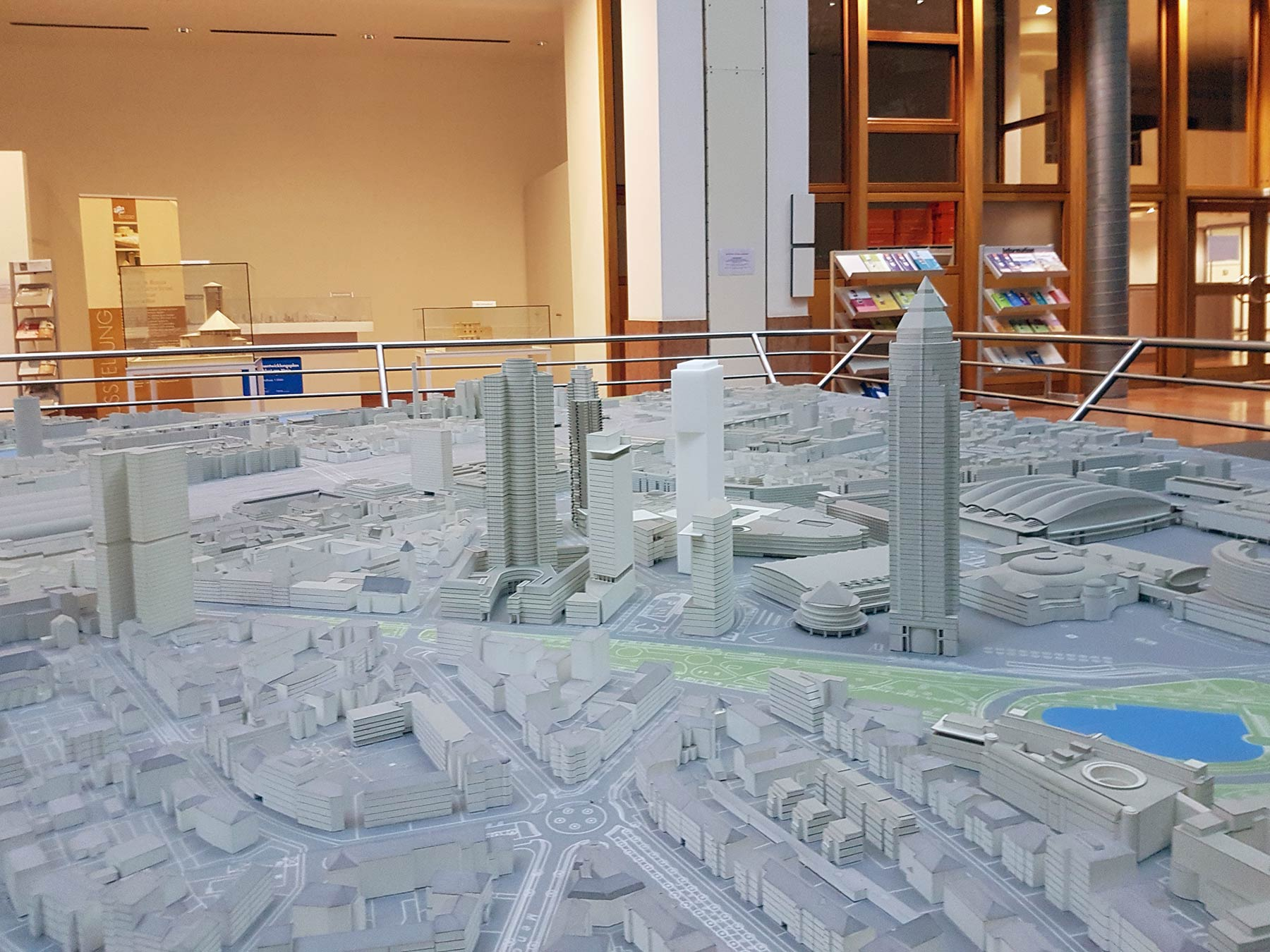 City Model Frankfurt in the Planning Office of the City of Frankfurt