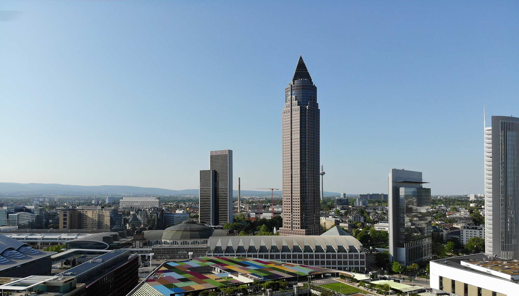 The MesseTurm will be renovated from April 2019