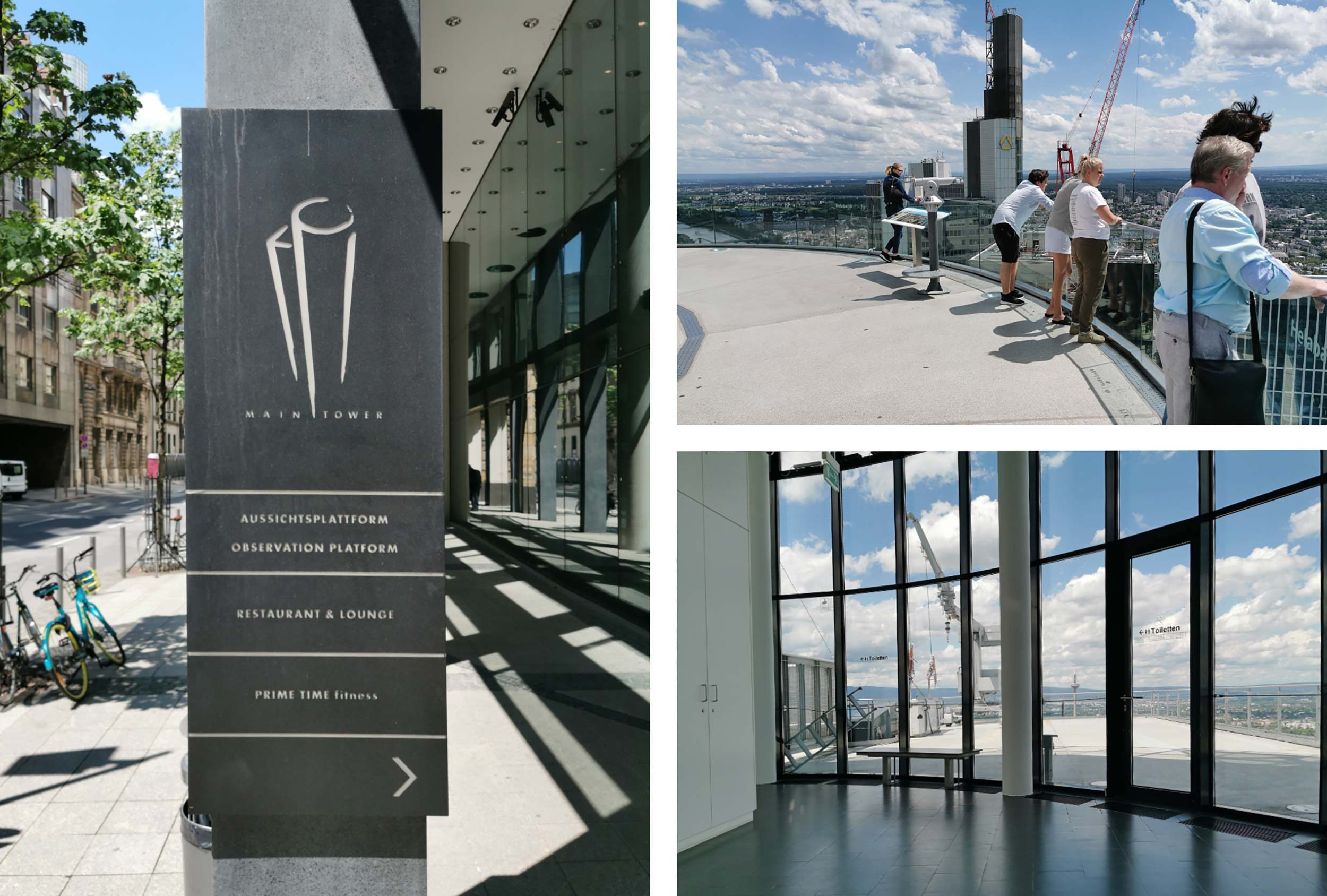 MAIN TOWER - tourist destination - sight - observation deck - platform - opening hours