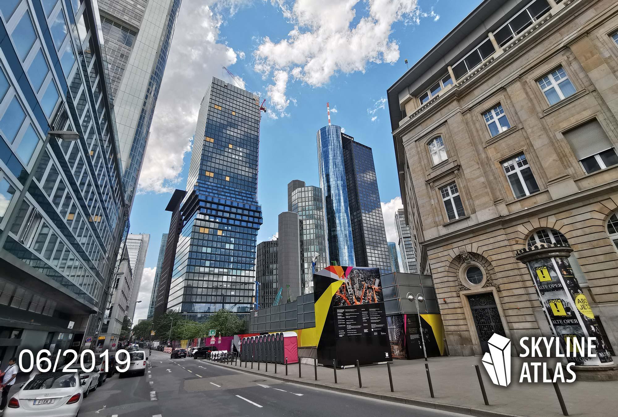 Photo of OmniTurm in Frankfurt - Designed by BIG Bjarke Ingels - Skyscraper containing apartments for sale
