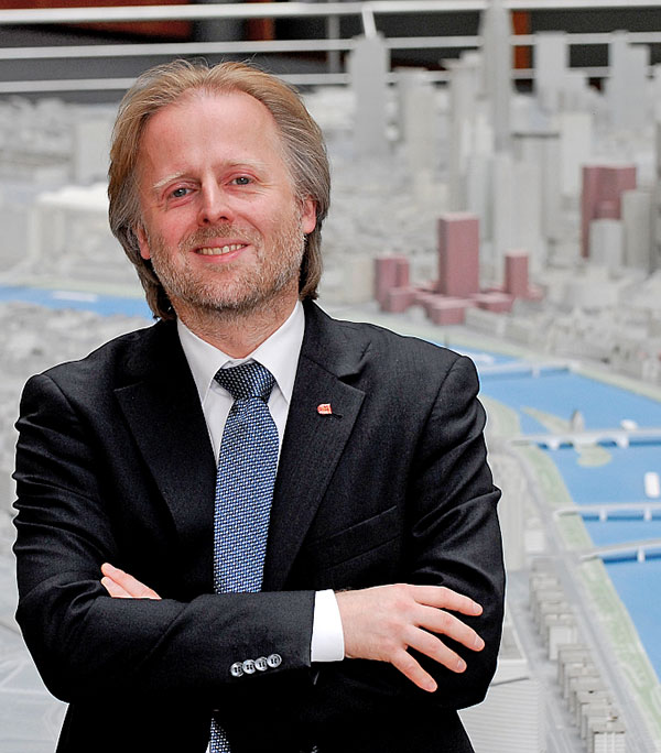 Olaf Cunitz - former Mayor and Head of Planning Frankfurt
