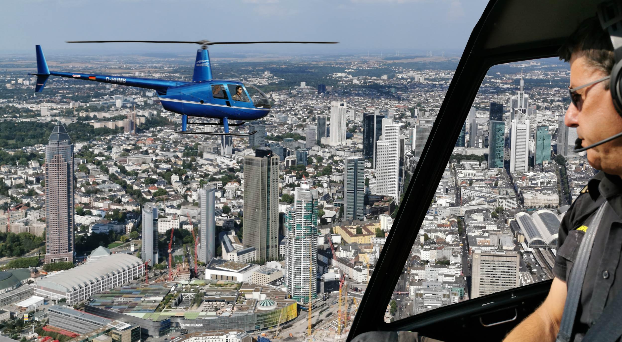 Frankfurt Helicopter Tour – Sightseeing Flight over Frankfurt