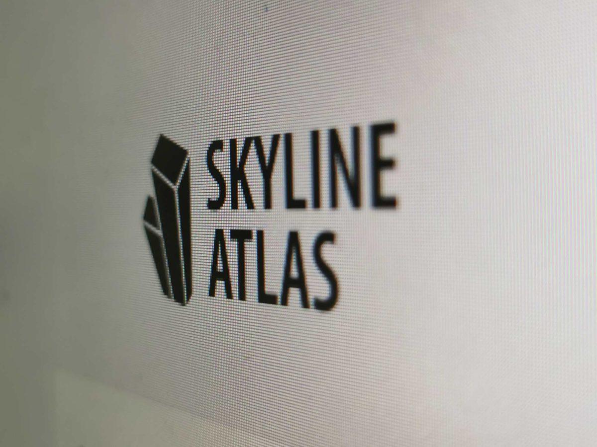 SKYLINE ATLAS Logo - Screenshot - Architecture Book Frankfurt - Real estate Guide Frankfurt