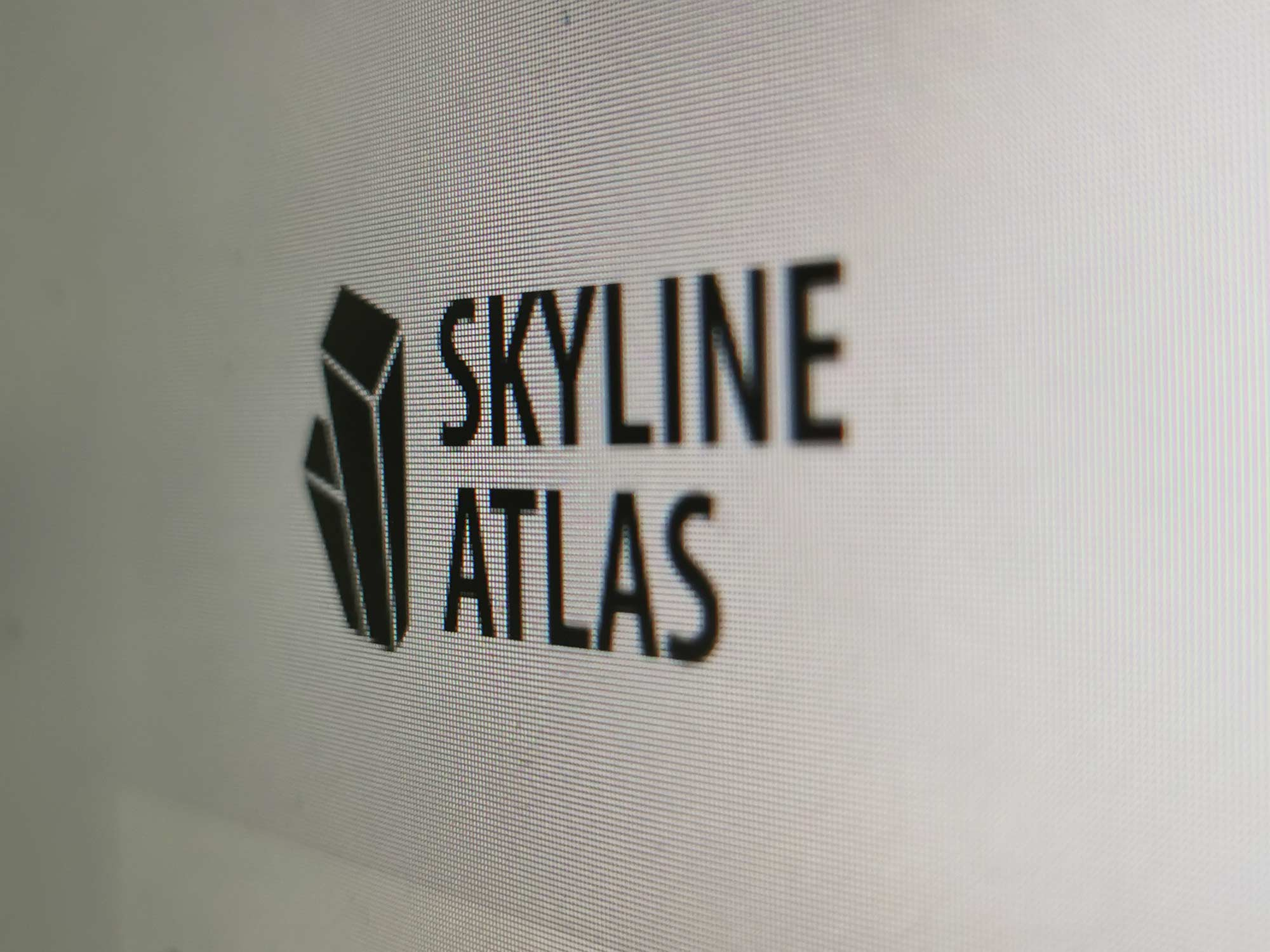 SKYLINE ATLAS Logo - Screenshot - Architecture Book Frankfurt - Real estate Guide Frankfurt
