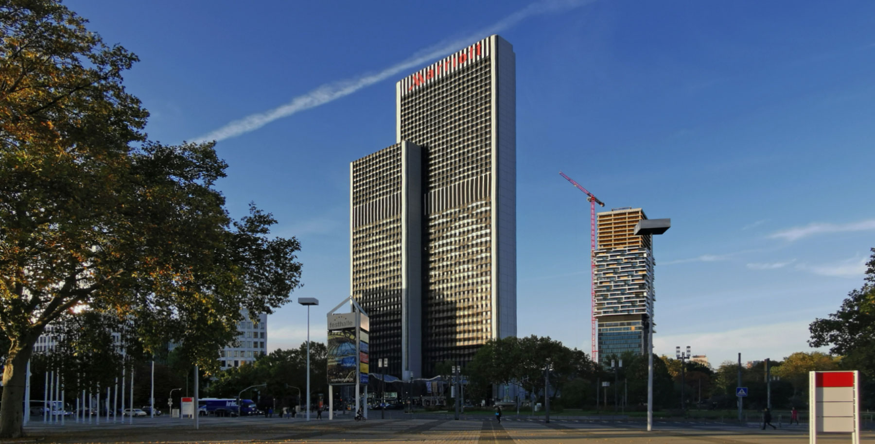 Westendgate Frankfurt - Westend Gate Frankfurt am Main - former PBC Plaza Büro Center - Marriott Hotel Frankfurt