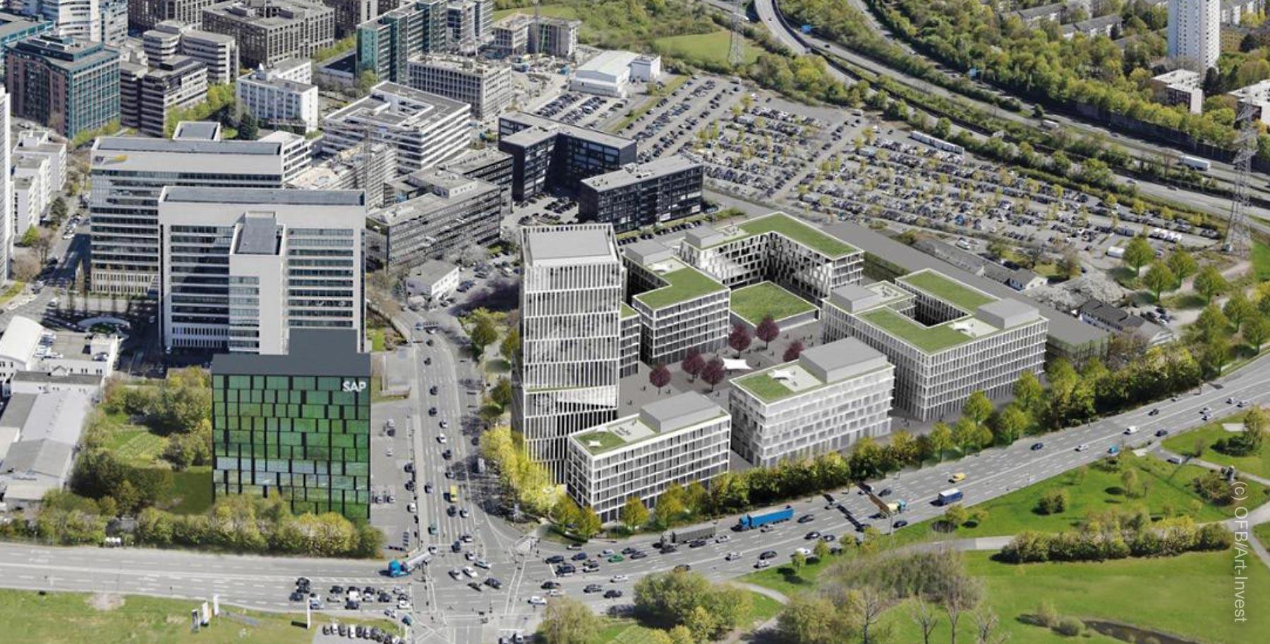 Eschborn Gate - Planned office complex in Eschborn