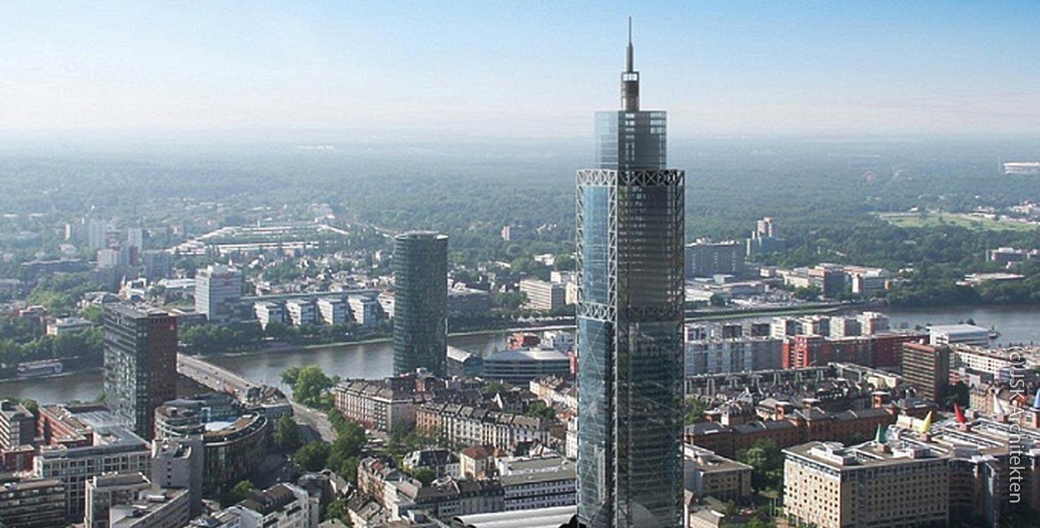 Campanile Tower in Frankfurt - Campanile Frankfurt - never realized