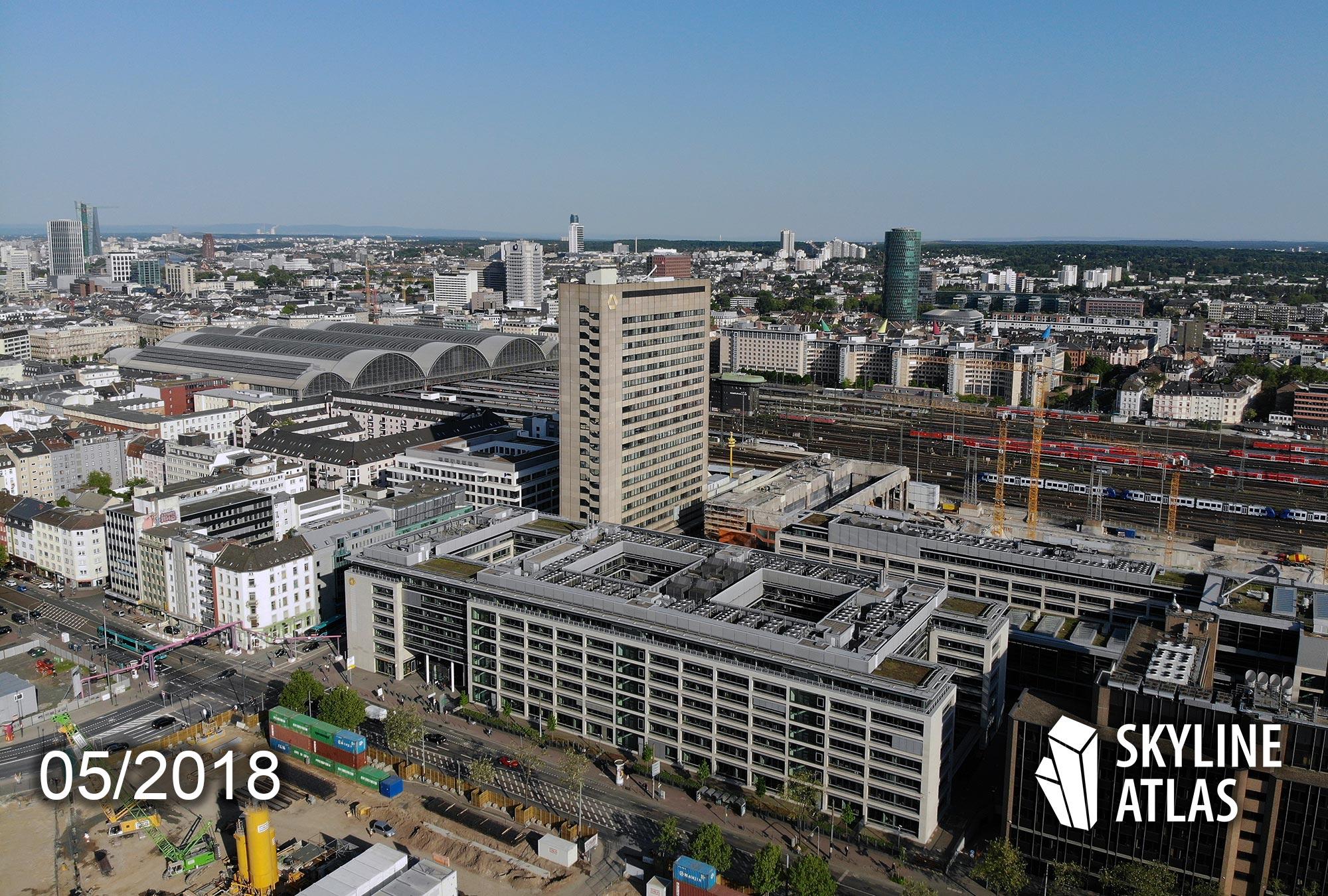 Virage Frankfurt - Commerzbank Trading Center - Gallus district - Post highrise